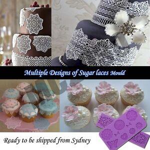 Lace-Silicone-Mold-Mould-Sugar-Craft-Fondant-Mat-Cake-Decorating-Baking-8-design