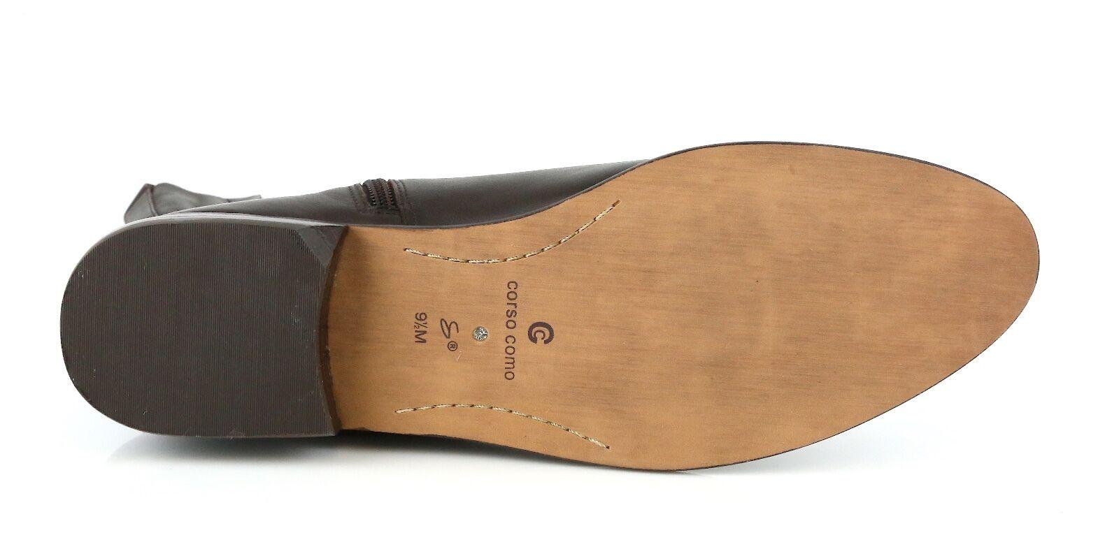 Corso Como Shepparton Woman's Coffee Braun Leder Stiefel 8451 8451 8451 Größe 9.5 M NEW 16b30d