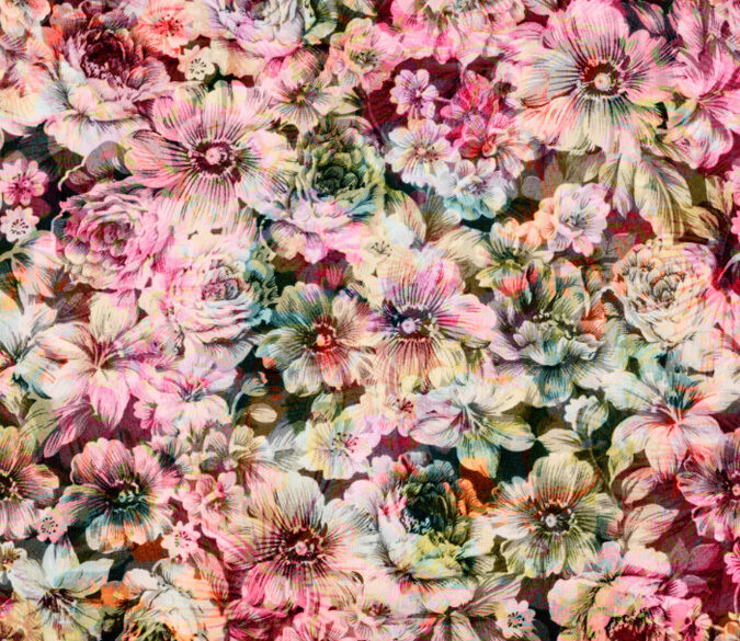 3D Mega Fashional Flowers624 Wall Paper Wall Print Decal Wall Deco Indoor Wall