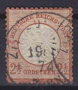 Breast Shield Mi No. 21 Round With K1 1874 Postmarked, German Empire, Tooth Pain
