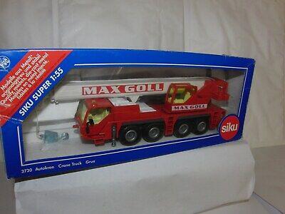 Mobilkran Super-Serie Maßstab 1//55 Siku 3730 Liebherr LTM 1060 Max Goll Kran