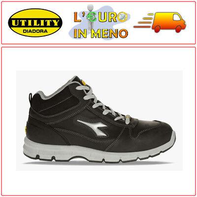 SCARPE ANTINFORTUNISTICHE ALTA DIADORA UTILITY RUN HIGH S3 SRC | eBay