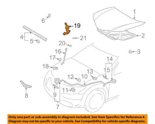 GM OEM Hood-Hinge Left 94857420