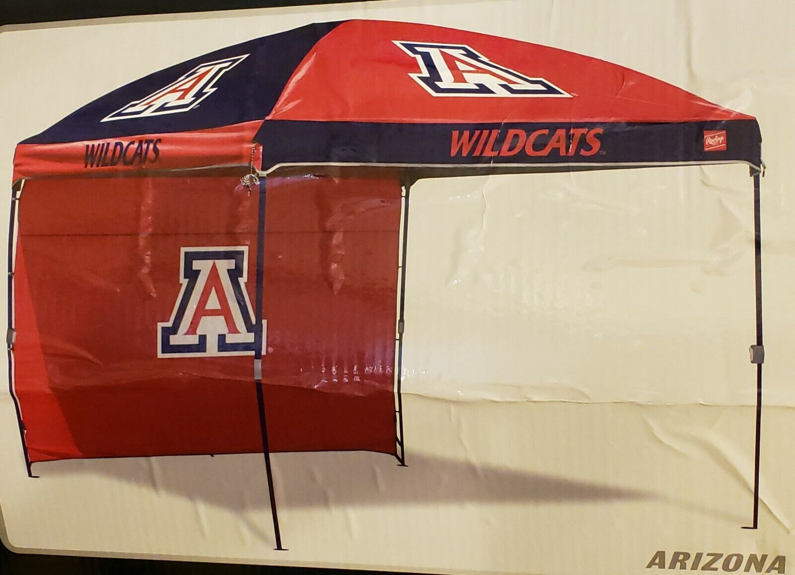 Arizona Wildcats NCAA 10' x 10' Dome Canopy with Wall by Rawlings