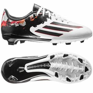 5b7b7680dba adidas F 10.3 TRX FG MESSI 2015 Soccer Shoes White   Black   Red ...