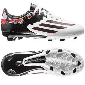 Soccer Adidas Messi Black Fg 10 F 3 Red Trx 2015 White Shoes qq0rX