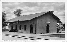 Postcard Smith's Creek Railroad Depot in Dearborn, Michigan~109878
