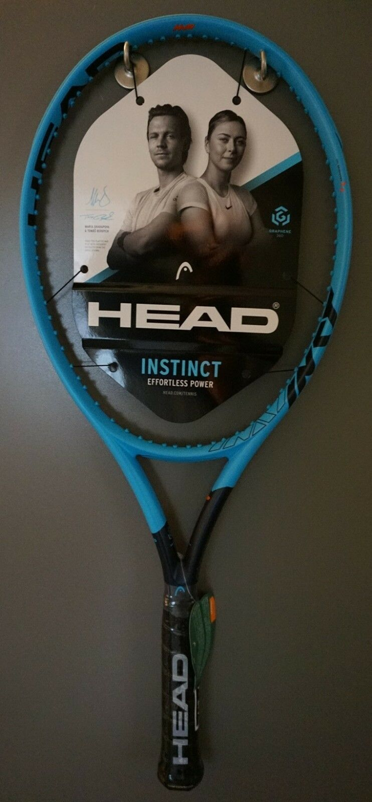 New HEAD GRAPHENE 360 INSTINCT MP 4 3 8 Tennis Racquet  LATEST 16x19