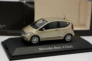 Schuco-1-43-Mercedes-Classe-A-Beige-metal