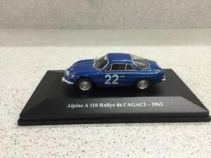 RALLYE de L/'AGACI de 1963 ALPINE A 110 ELIGOR ~  NEUF