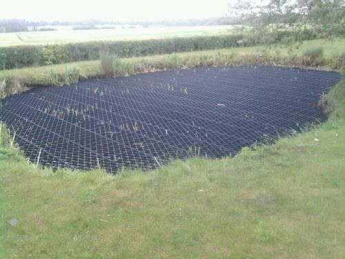 POND SAFETY COVER PLASTIC POND SAFETY GRID ALUMINIUM METAL POND SAFETY SUPPORT
