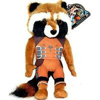 Marvel Guardians of the Galaxy Exclusive Rocket Raccoon Plush New