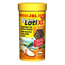 6 Stück JBL NovoLotl XL, 6 x 250 ml Sparpack, Alleinfutter für große Axolotl