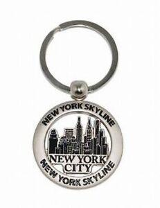 New York City Skyline Key Chain 3 1/8in Empire Chrysler