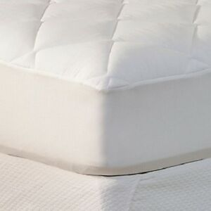 Soft-Tex-Gold-Coast-Quilted-100-Cotton-Mattress-Pad-Full-Size