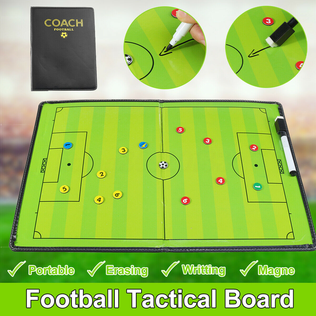 Tactical soccer books