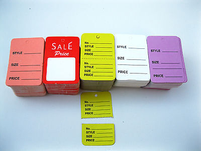 500 Merchandise Price Tags & Special Price Tag