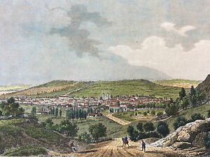 Nancy-Meurthe-Et-Moselle-Print-Coloured-towards-1835-France
