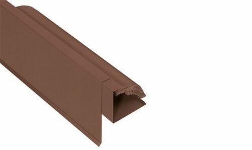 Ortgang Briel Blende farbig Ziegel 160//80 mm Alu Profil Blech