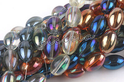 New Wholesale Olive Czech Crystal Glass Loose Spacer Beads Charm Jewelry Finding