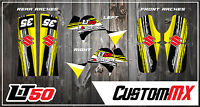 Suzuki Lt50 Lta50 Graphic Kit Stickers Quad Decals Graphics Lt50 A Lta 50
