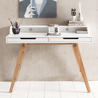 110 Cm Mdf Weiß Laptoptisch Bürotisch Ablage Desk Beliebte Marke Schreibtisch Arbeitstisch