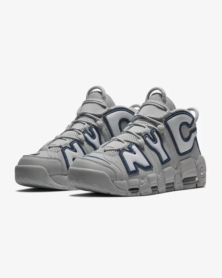 cheap for discount dd827 ab9c1 cheap nike air more uptempo city nyc qs new york city uptempo navy grey  size 11