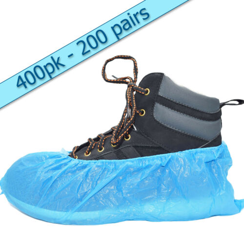 2.5g En Relieve 400 Standard Blue desechables Overshoes Cubiertas De Zapatos