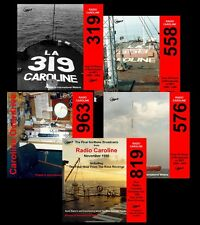 Pirate Radio Caroline 319-558-576-819-963 (Over 160hrs) on 5 MP3 DVD Discs