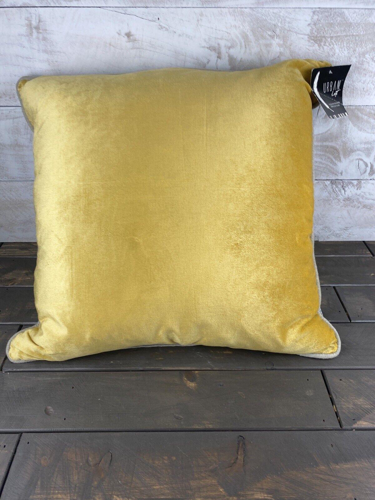 Urban Loft by Westex Budgies Print Feather Filled Decorative Throw Pillow Cushion 20 x 20