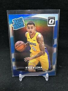 KYLE-KUZMA-2017-18-Donruss-Optic-174-Silver-Holo-Prizm-Rated-Rookie-U95