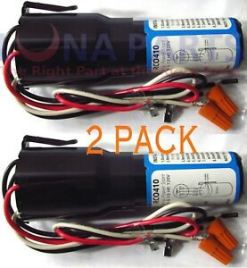 2 Pack - 3 N 1 Hard Start Kit Relay Refrigerator Freezer 115v Rco410 Rc0410 Capa Belle Qualité