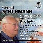 Gerard Schurmann - Schumann: Chamber Music, Vol. 2 (2014)