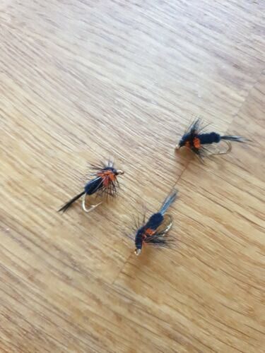 Details about  /9 x S//S  ASSORTED MONTANA FISHING  FLIES NYMPHS SIZE 12 BY AQUASTRONG 054A