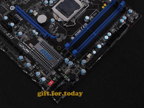 Original MSI MS-7636 H55M-E33 Intel H55 Motherboard LGA 1156 DDR3