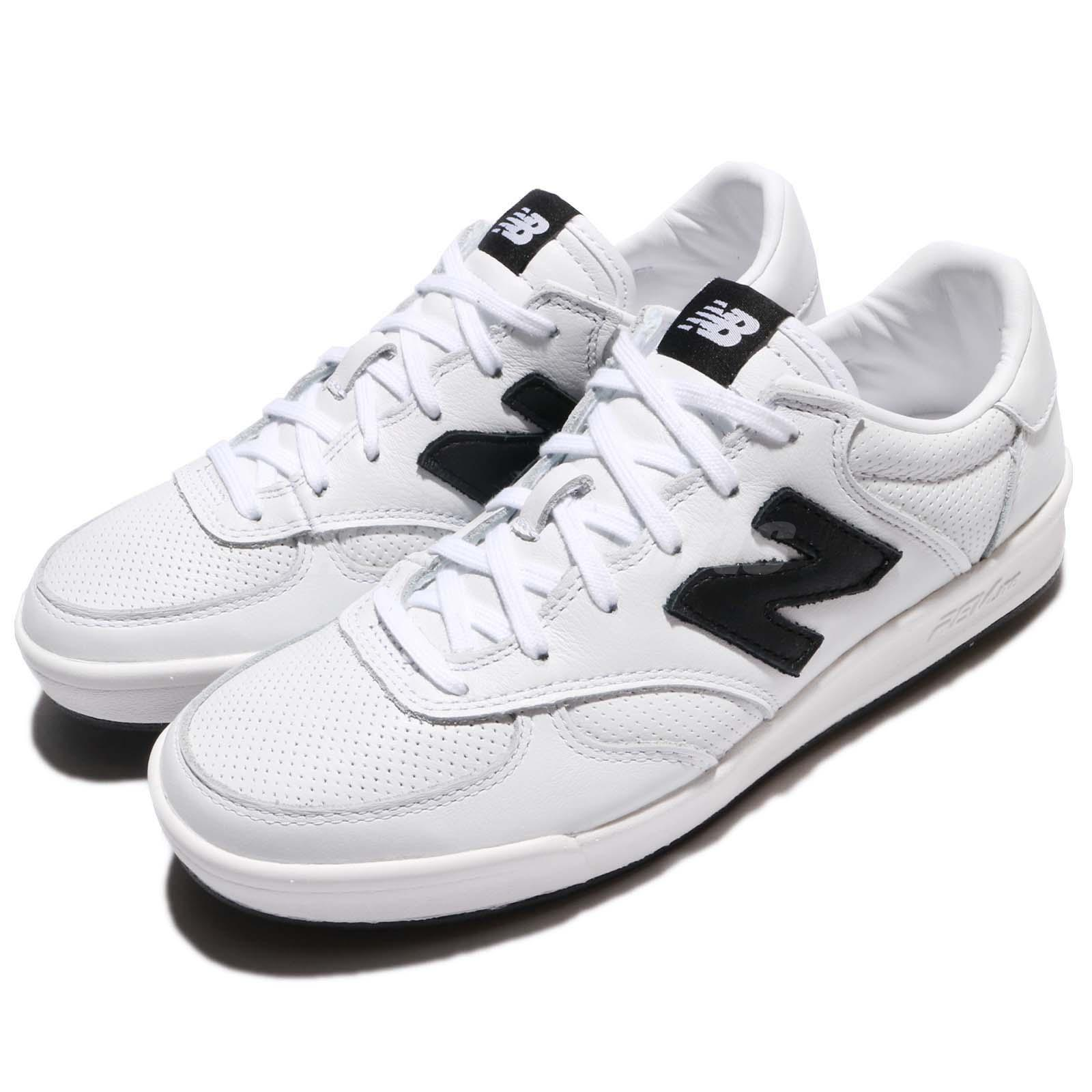 New Balance CRT300LC D Leather blanc noir homme Court chaussures Sneakers CRT300LCD