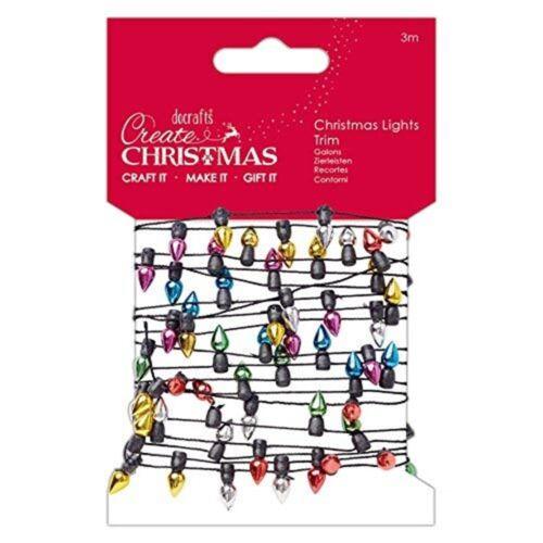 3 M One Size Create Christmas Christmas Lights Trim Multi-colour