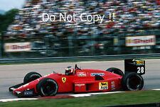 Gerhard Berger Ferrari F1/87-88C Brazilian Grand Prix 1988 Photograph