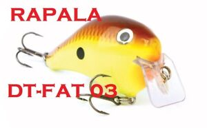 Rapala-DT-Fat-03-2-1-2-034-1-2-oz-New-in-Box-Choice-of-Colors