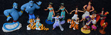 Disney Aladdin Jasmine Genie Jafar Simba PVC Figures Cake Toppers Lot of 13