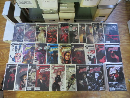 DAREDEVIL 52 ISSUE COMIC RUN 41104, 509512 MARVEL KNIGHTS