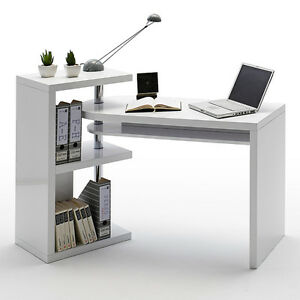 high gloss office furniture. Image Is Loading Sydney-Rotating-Office-Desk-in-High-Gloss-White High Gloss Office Furniture