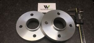 Pair 4x100 Hubcentric Spacers 20mm Wide 60.1CB CLIO MEGANE UK Made