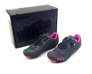 buy popular 7be8d 05db3 Details about Fizik R5B Donna BOA Womens Road Bike Shoes 38.5/7.75  Pink/Black