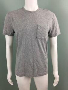 NWT-Mens-Penguin-S-S-Gray-Quilted-Pocket-Tee-Shirt-Sz-M-Medium