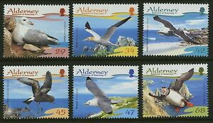 Alderney-2006-Scott-273-278-Mint-Never-Hinged-Set