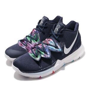06c35151d58 Nike Kyrie 5 EP Multi-Color V Irving Navy Mens Basketball Shoes KI5 ...