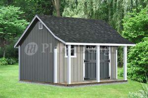 Image Is Loading 14 039 X 12 039 Backyard Storage Shed