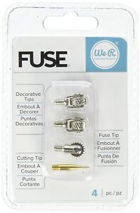 We-R-Memory-Keepers-660870-Fuse-Tool-Tips-Decorative-Cutting-amp-Fusing-4-Pack