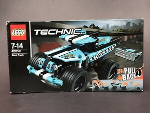 LEGO-42059-TECHNIC-STUNT-TRUCK-PULL-BACK-FACTORY-SEALED-BOX-RETIRED-COMPLETE